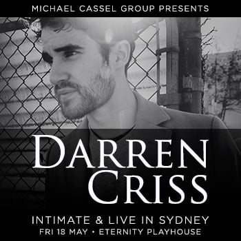 Darren Criss: Intimate and Live in Sydney